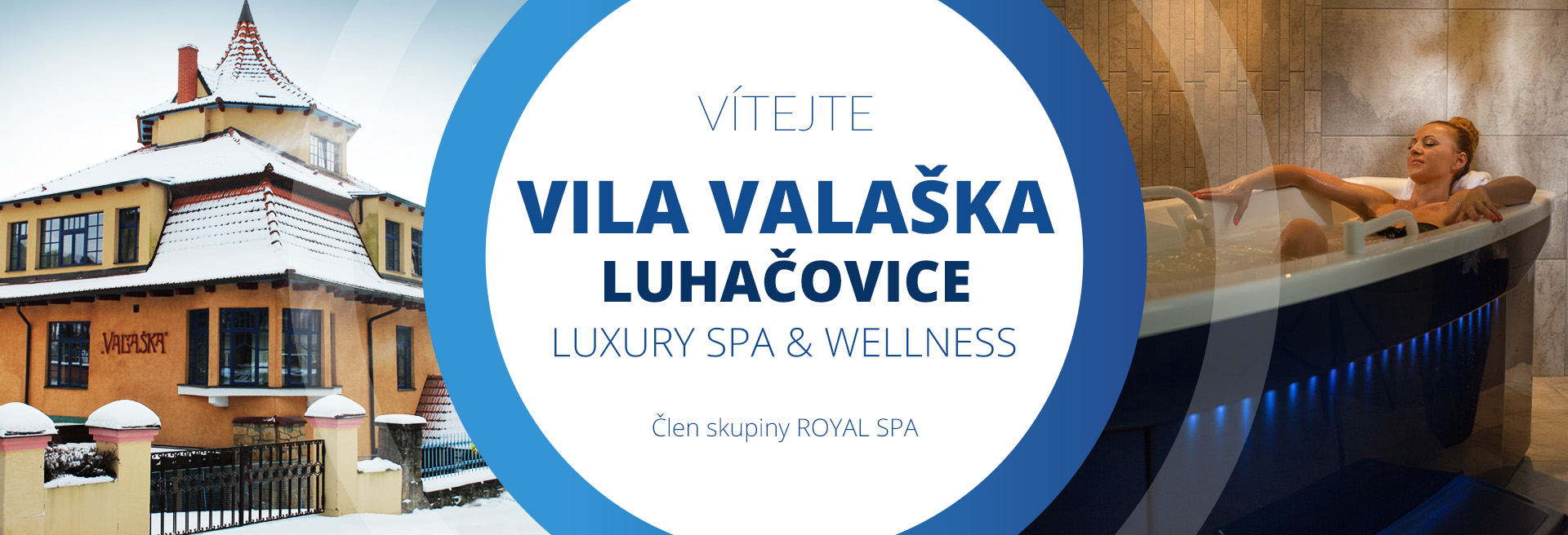 O nás - Luxury Spa & Wellness VILA VALAŠKA Luhačovice